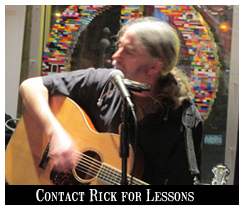 Contact Rick For banjo and guitar lessons